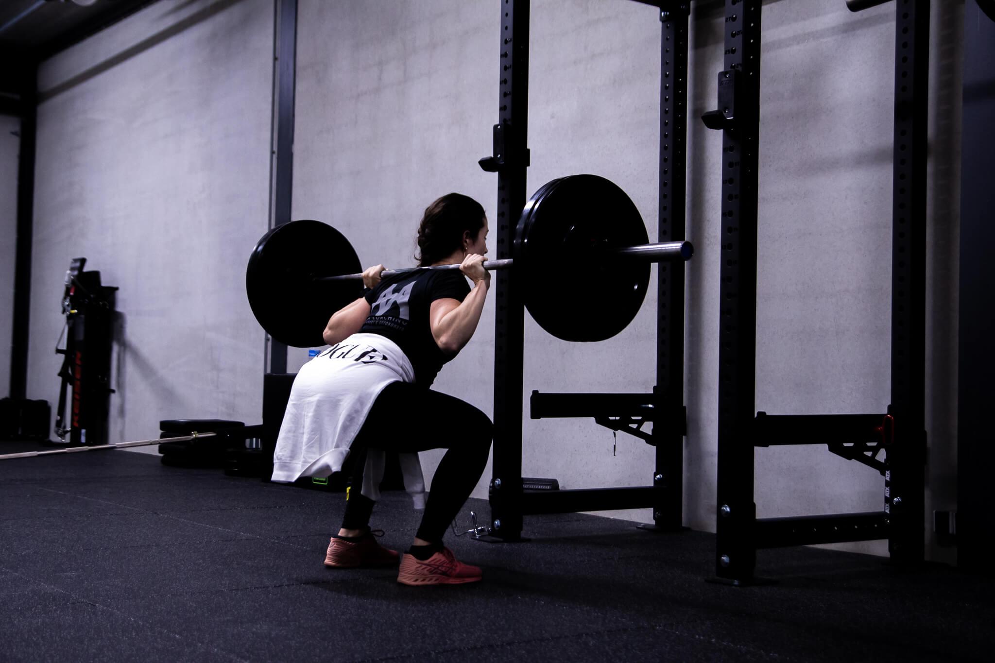 Functional training deadlift