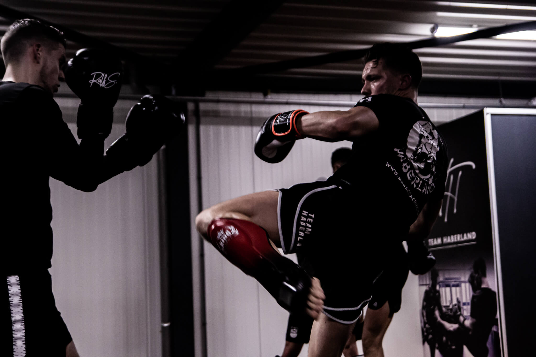 Kickboks training