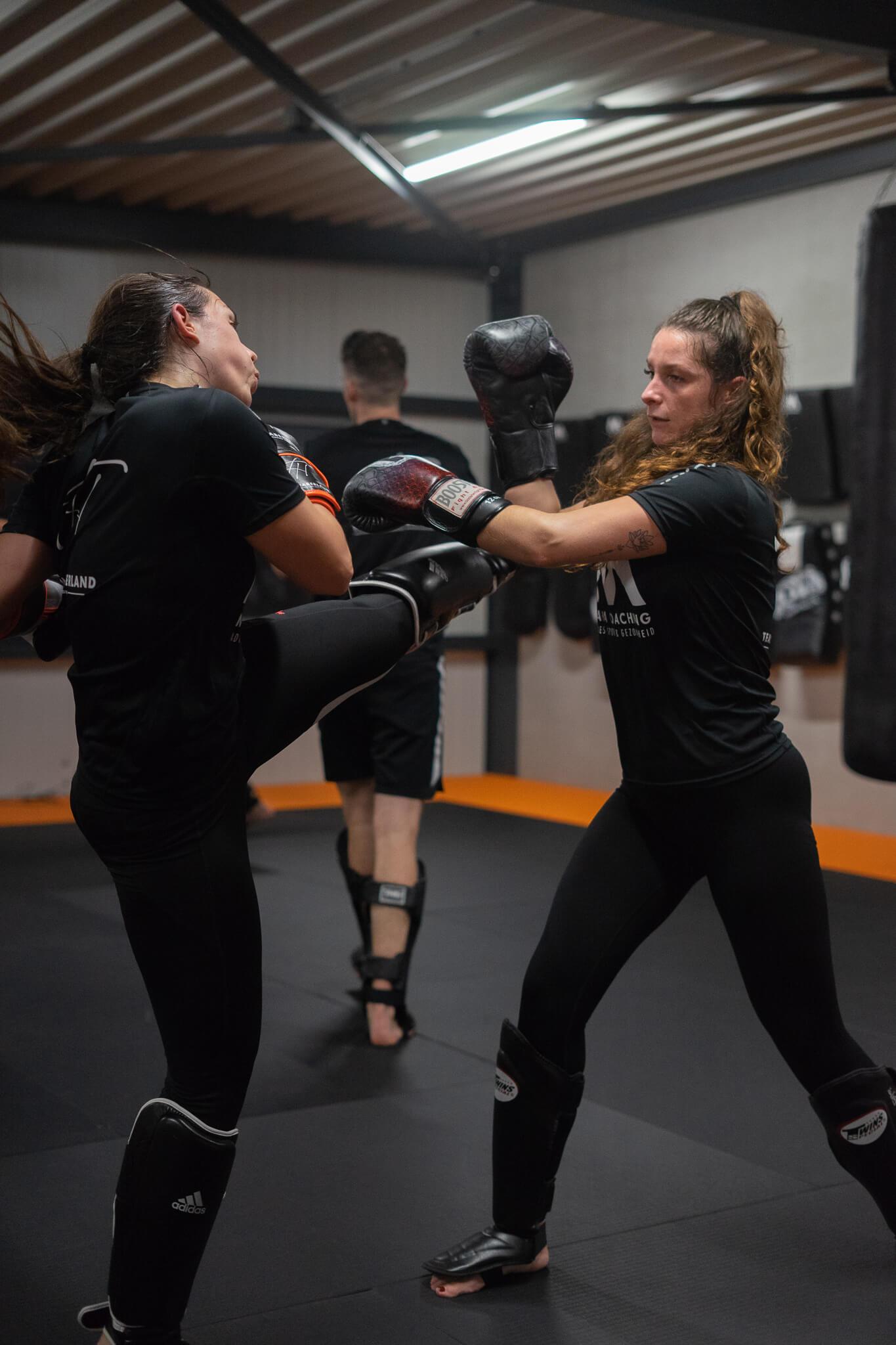 Kickboksen dames