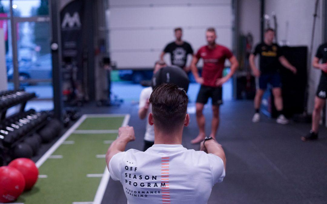 'De specifieke krachttrainingen zijn een totale meerwaarde voor de sport'